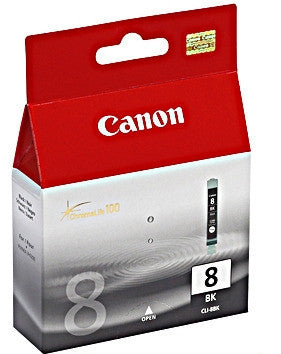 Canon CLI-8BK genuine printer cartridge