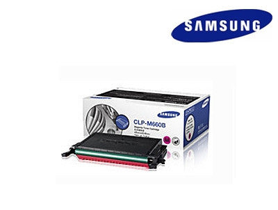 Samsung  CLP-M660B genuine magenta  laser cartridge - 5000 page yield