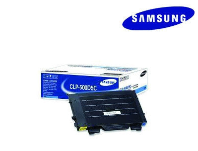 Samsung CLP-500D5C Genuine Cyan Laser Cartridge