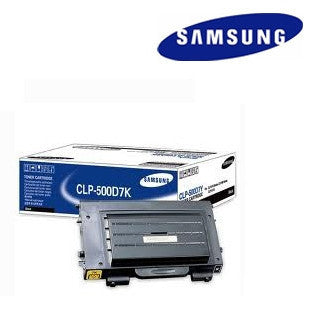 Samsung  CLP500D7K  genuine black laser cartridge - up to 7000 page yield
