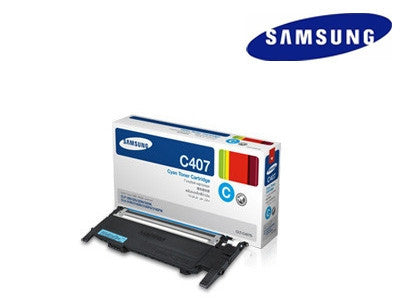 Samsung  CLT-C407S genuine laser cartridge - 1,000 page yield
