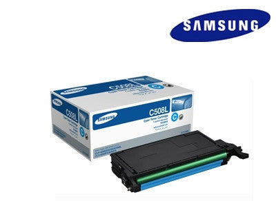 Samsung  CLT-C508L cyan Genuine  toner cartridge