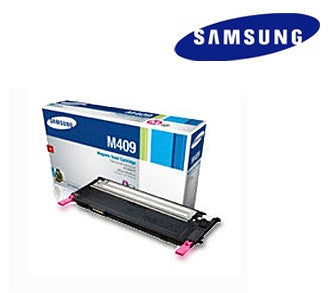 Samsung  CLT--M409S magenta genuine  laser cartridge- yield 1,000 pages