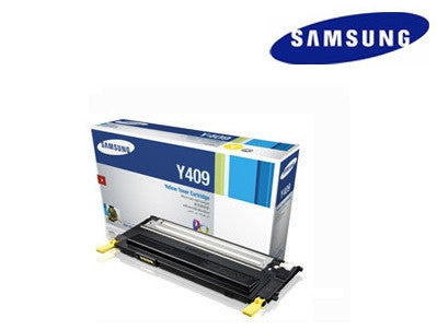 Samsung  CLT--Y409S yellow  laser cartridge- yield 1,000 pages