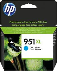 HP 951XL (CN046AA) Cyan High Yield Genuine  Ink Cartridge