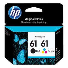HP CR311A (HP 61) Genuine Black & Colour Ink Cartridges