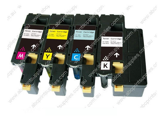 Dell 592-11592, 592-11588 B,C,M,& Y Bundle High Yield Laser Cartridges Compatible