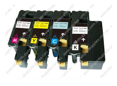 Dell 1250C BCMY Bundle High Yield Laser Cartridges