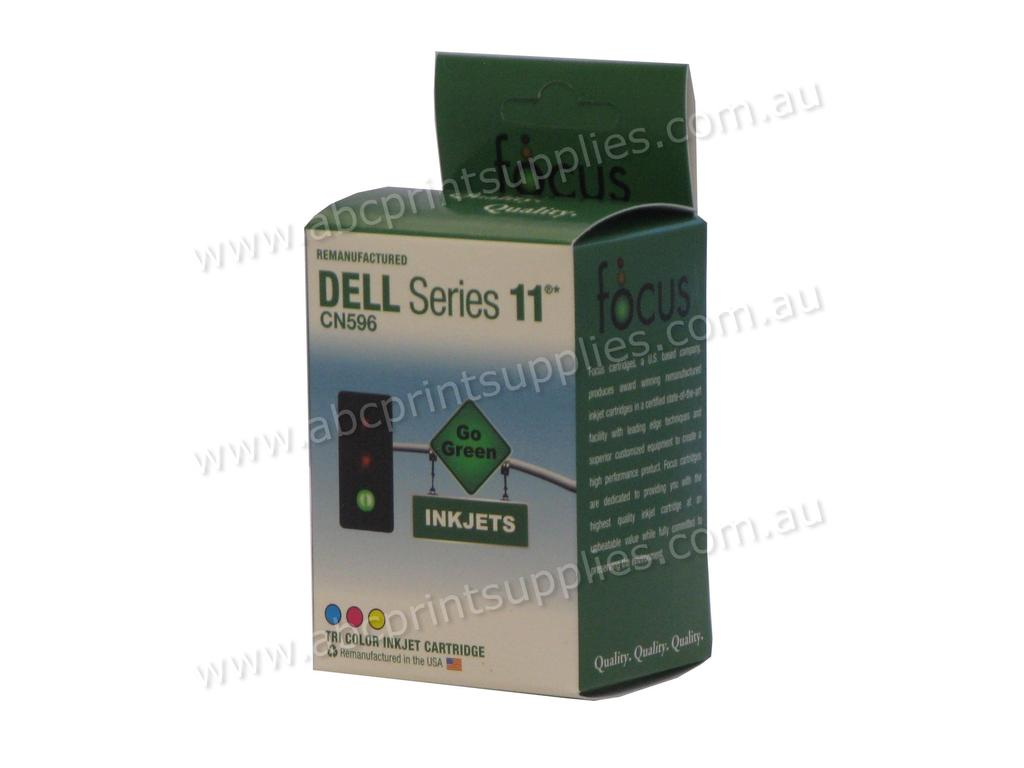 Dell CN596 Series 11 TriColour H/Y (400 page) Ink Cartridge compatible