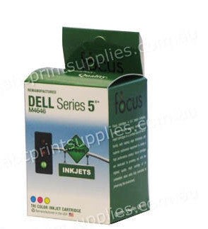 Dell M4646 Series 5 TriColour H/Y Ink Cartridge Compatible