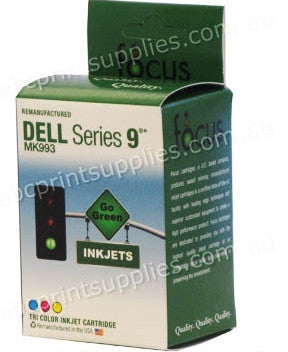 Dell MK993 Series 9 TriColour H/Y Ink Cartridge Remanufactured