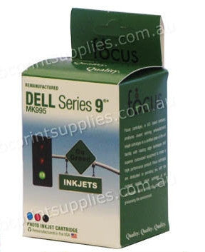 Dell MK995 Series 9 Photo TriColour High Yield Ink Cartridge Remanufactured
