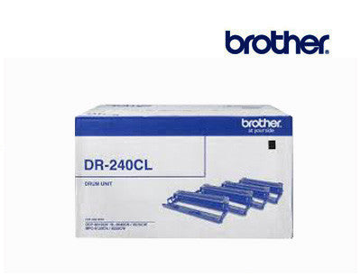 Brother DR-240CL Genuine Colour Laser Drums (4)