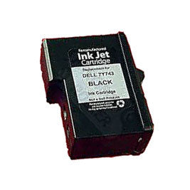 Dell 7Y743 Series 2 Black Ink Cartridge Remanufactured (Recycled)