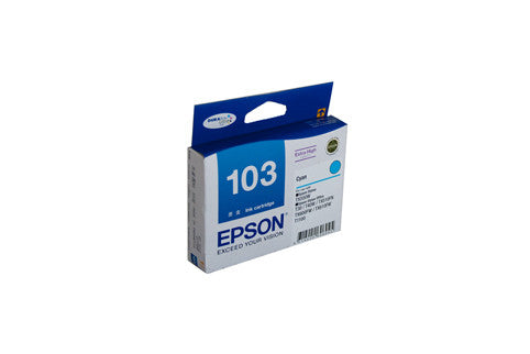 Epson T1032 (103N) Genuine H/Y Cyan Ink Cartridge - 815 pages