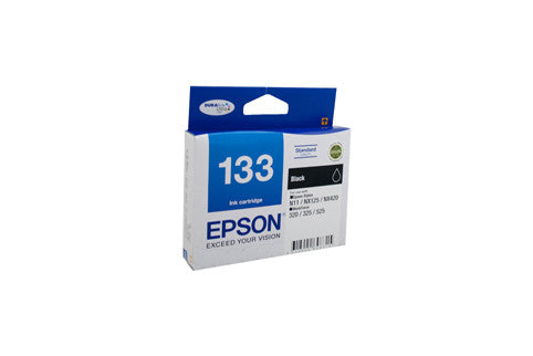 Epson T1331 (133) Black Ink Cartridge - 255 pages