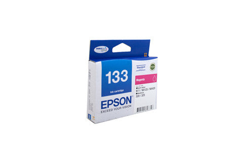 Epson T1333 (133) Magenta Ink Cartridge - 300 pages