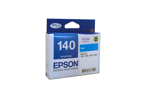 Epson T1402 (140) H/Y Cyan Ink Cartridge - 755 pages