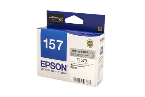 Epson 1579 Lt Lt Black Ink Cartridge