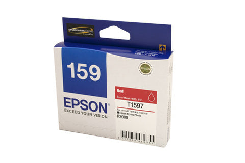 Epson 1597 Genuine Red Ink Cartridge
