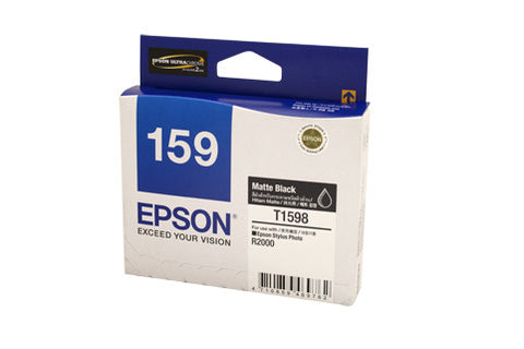 Epson 1598  Genuine Matte Blk Ink Cartridge