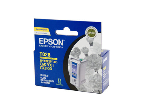 Epson T028 Genuine Black Ink Cartridge - 420 pages