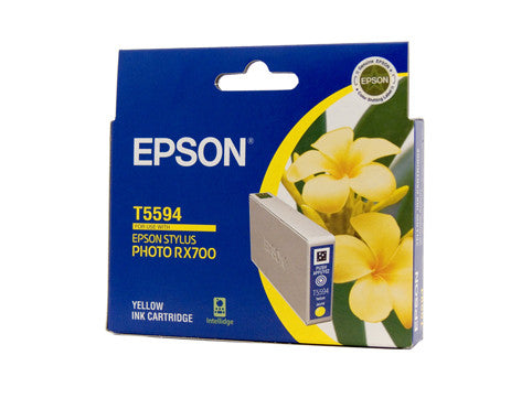 Epson T5594 Genuine Yellow Ink Cartridge - 520 pages