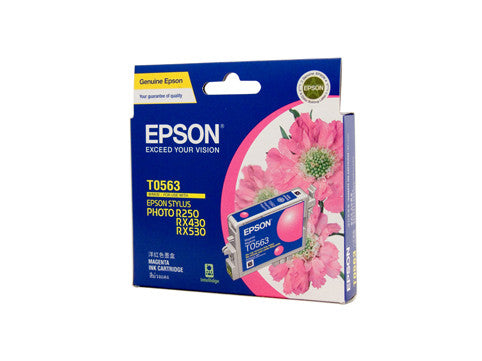 Epson T0563 Genuine Magenta Ink Cartridge - 290 pages