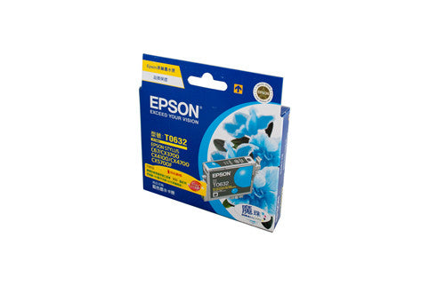 Epson T0632 Genuine Cyan Ink Cartridge - 380 pages