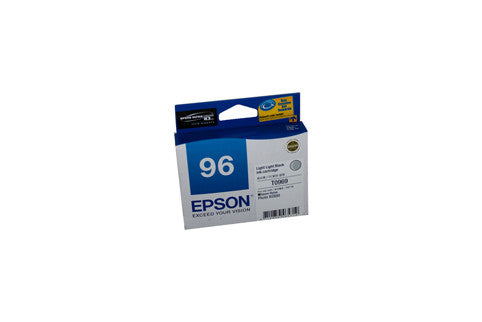 Epson T0969 Genuine Light  Black Ink Cartridge - 6,065 pages