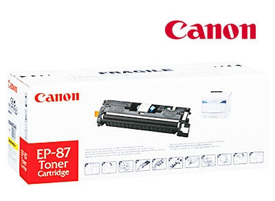 Canon EP87Y Genuine Yellow Toner Cartridge