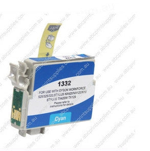 Epson T1332 (133) Cyan Ink Compatible Cartridge (HIGH YIELD)
