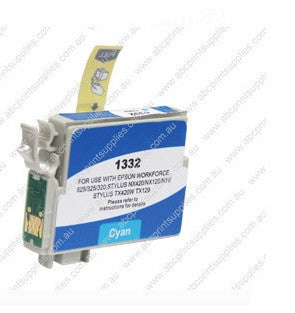 Epson T1322 (132) Cyan Ink Compatible Cartridge (HIGH YIELD)