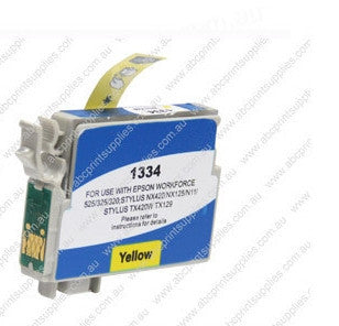Epson T1324 (132) Yellow Ink Compatible Cartridge (HIGH YIELD)