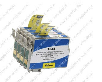 Epson T1330 BCMY Bundle  Ink Compatible Cartridges (HIGH YIELD)