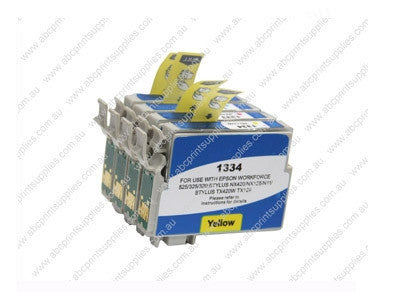 Epson T1320 BCMY Bundle  Ink Compatible Cartridges (HIGH YIELD)