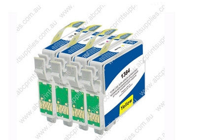 Epson T1381-1384 B,C,M,Y Bundle Compatible Ink Cartridges