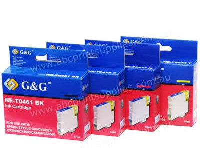 Epson C13T046190, C13T047290, C13T047390 & C13T047490 compatible printer cartridges