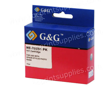 Epson T0591 Photo Black Ink Cartridge Compatible
