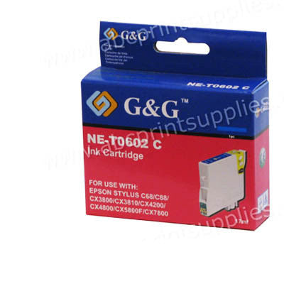 Epson T0602 Cyan Ink Cartridge Compatible