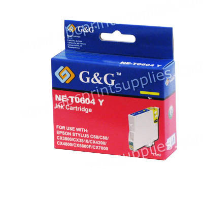 Epson T0604 Yellow Ink Cartridge Compatible