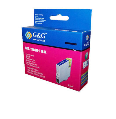 Epson T0461 Black Ink Cartridge Compatible