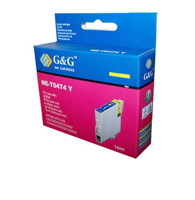 Epson T0474 Yellow Ink Cartridge Compatible
