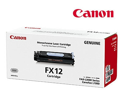 Canon FX-12 genuine printer cartridge