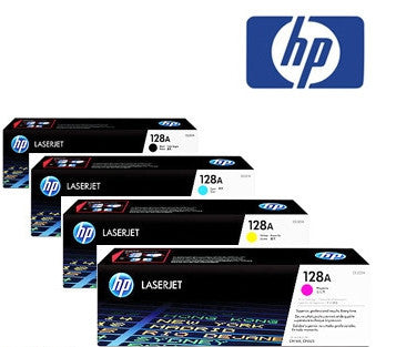 HP CE320A, CE321A, CE322A, CE323A genuine printer cartridges