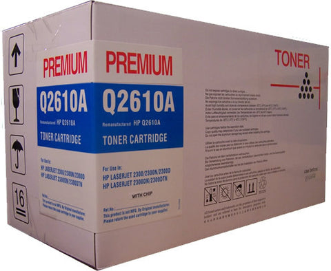 HP Q2610A remanufactured toner printer cartridge
