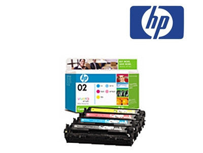 HP1215  CB540A, CB541A, CB542A, CB543A bundle genuine inkjet cartridges
