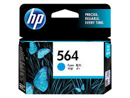 HP CB318WA  (HP 564) Genuine Cyan Ink Cartridge