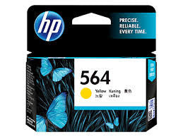 HP CB320WA  (HP 564) Genuine Yellow Ink Cartridge