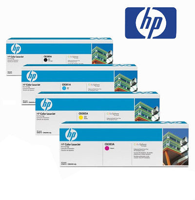 HP 6015 Genuine B,C,M,Y  Bundle Toner Cartridges